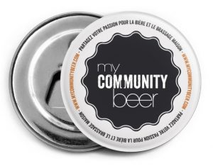 my community beer décapsuleur