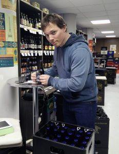 La caisse de bières
