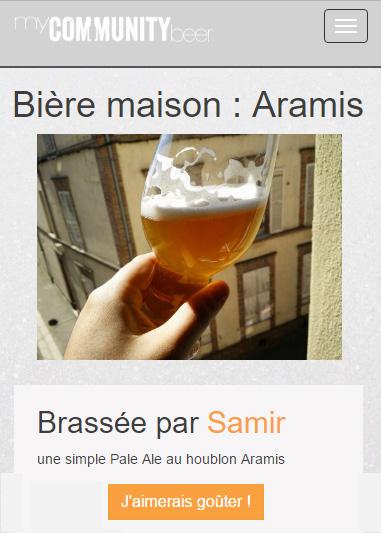 Fiche bière